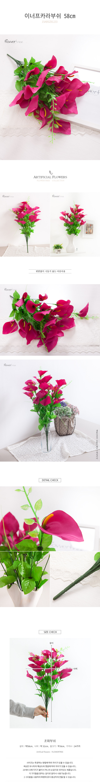 이너 프카라부쉬o 58cm(조화) - 플라워트리, 4,600원, 조화, 부쉬