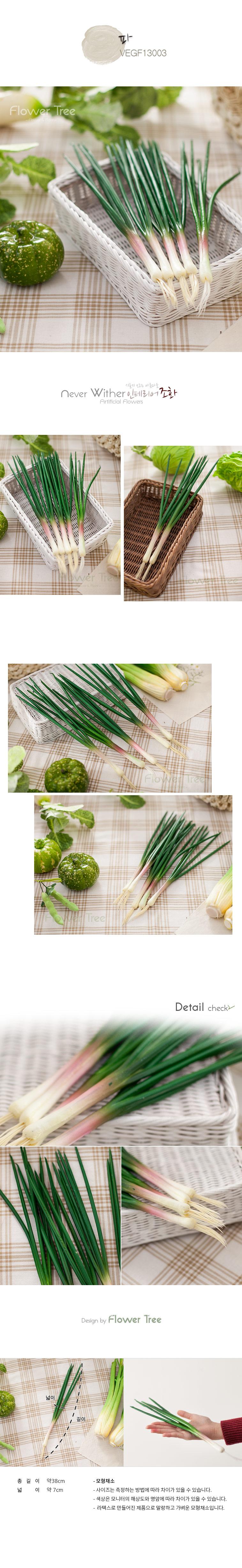 파 FOFDFT 모형 모조 과일 채소 소품 주방장식 - 플라워트리, 4,300원, 미니어처, 음식